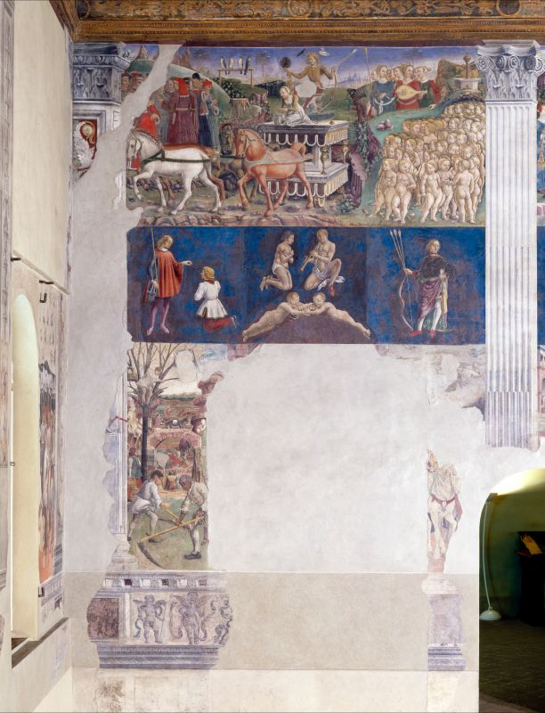 Palazzo Schifanoia. Salone dei Mesi. Maggio - anonimo - Ferrara (FE)