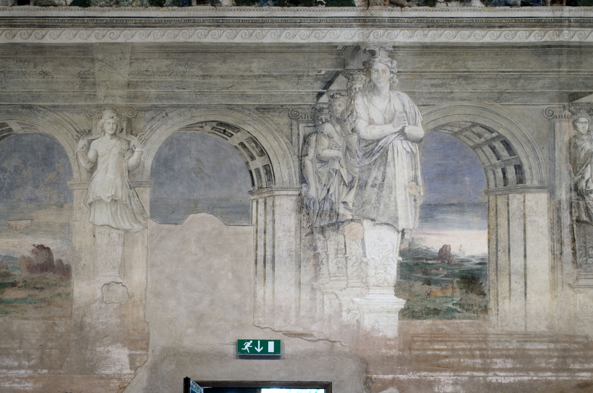 Sala della Vigna affreschi - PAOLO BENETTI - Voghiera (FE)