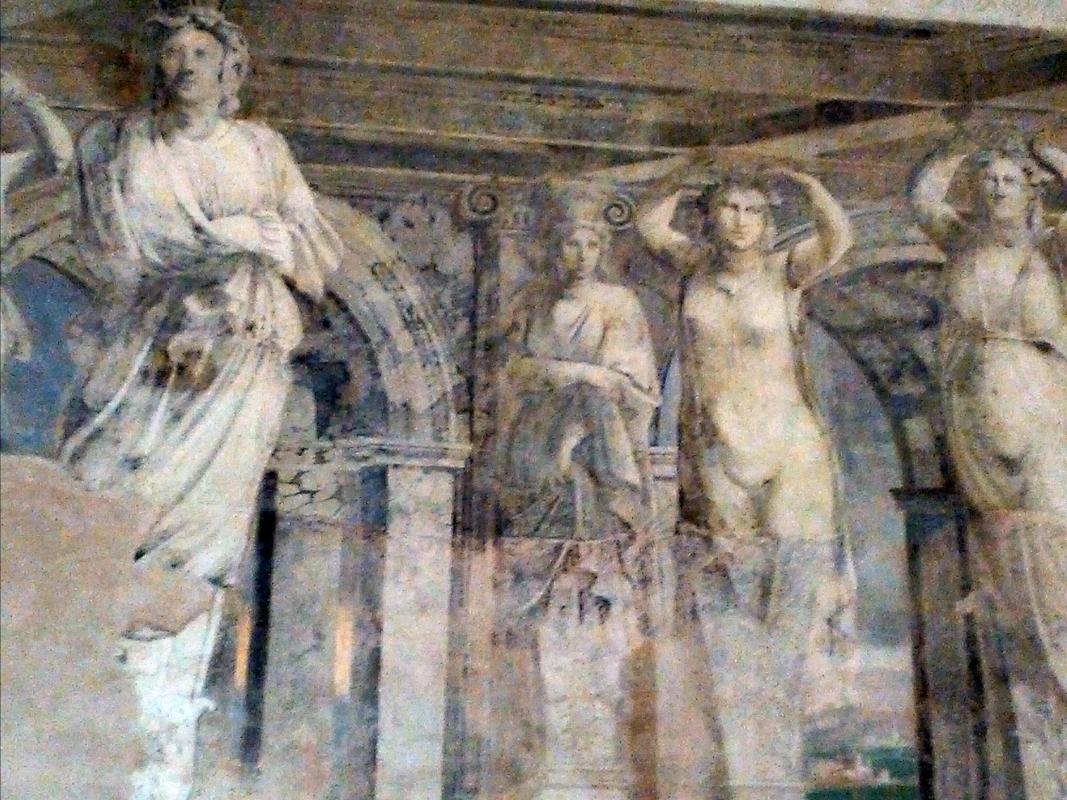 Sala della Vigna, Cariatidi - AlessandroB - Voghiera (FE)