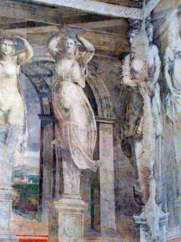 Sala della Vigna, Cariatidi (1537) - AlessandroB - Voghiera (FE)