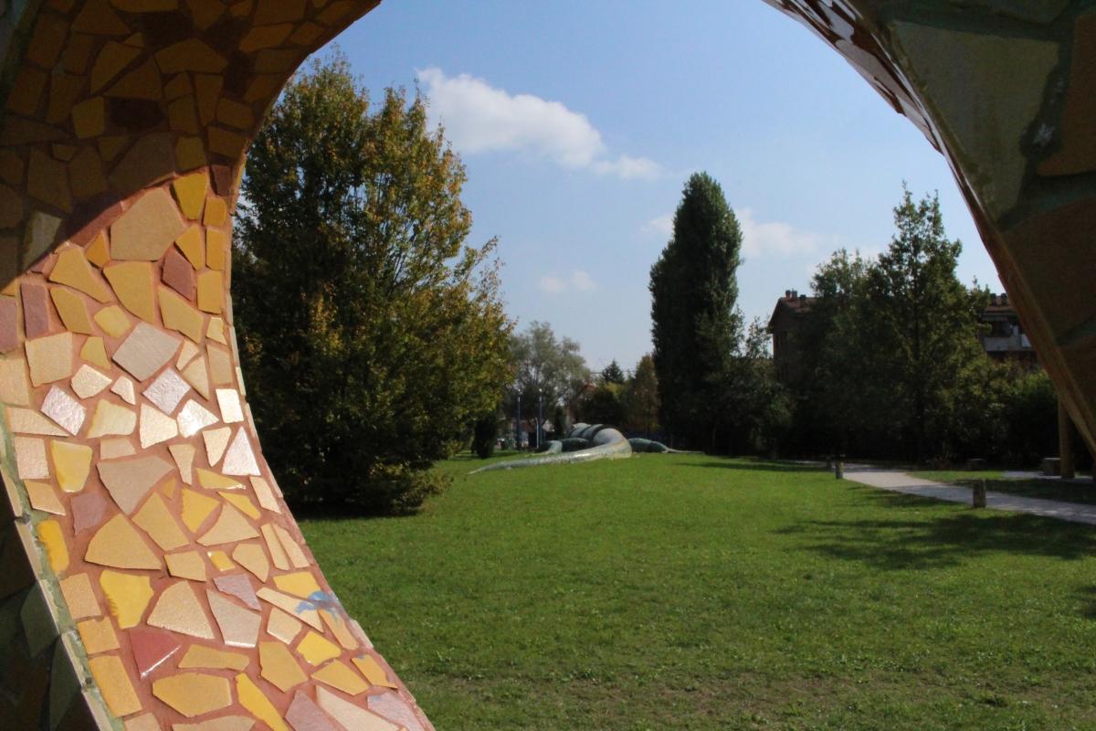 Il parco visto da una prospettiva particolare - Ana-Maria Iulia Radoi - Cento (FE)
