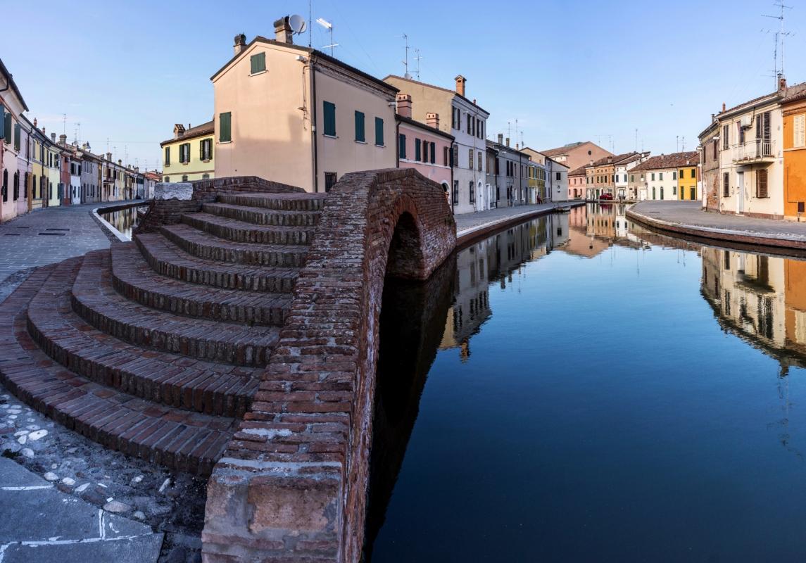 Ponte dei Sisti - Centro storico - Vanni Lazzari - Comacchio (FE)