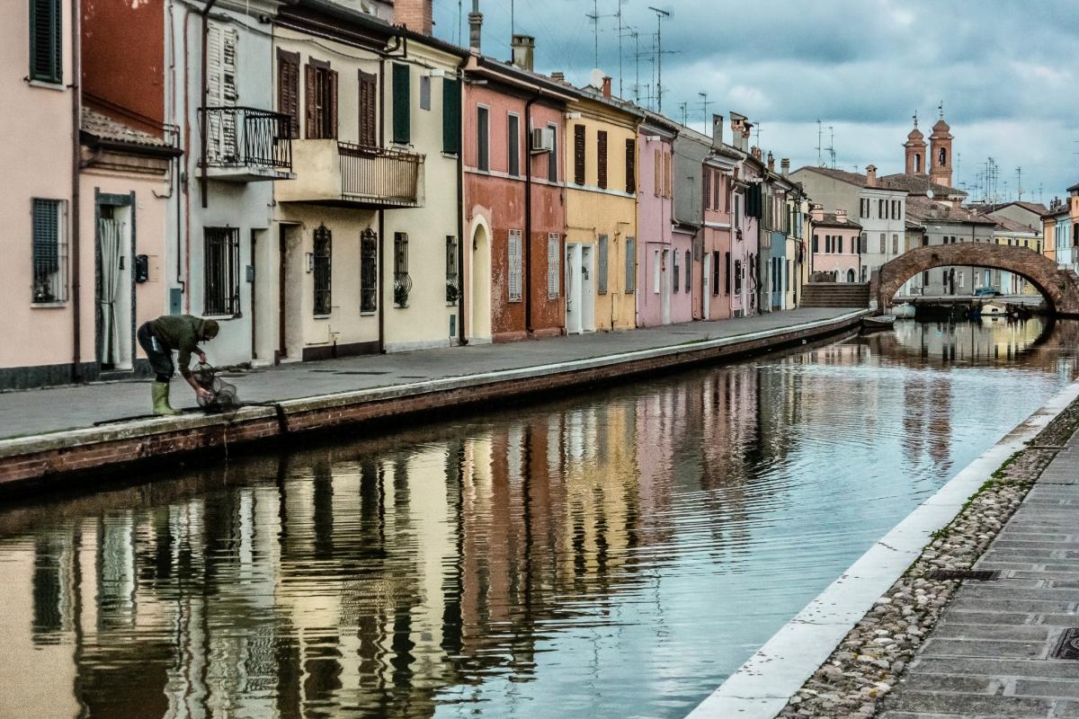 Centro Storico di Comacchio - Ponte San Pietro - Vanni Lazzari - Comacchio (FE)