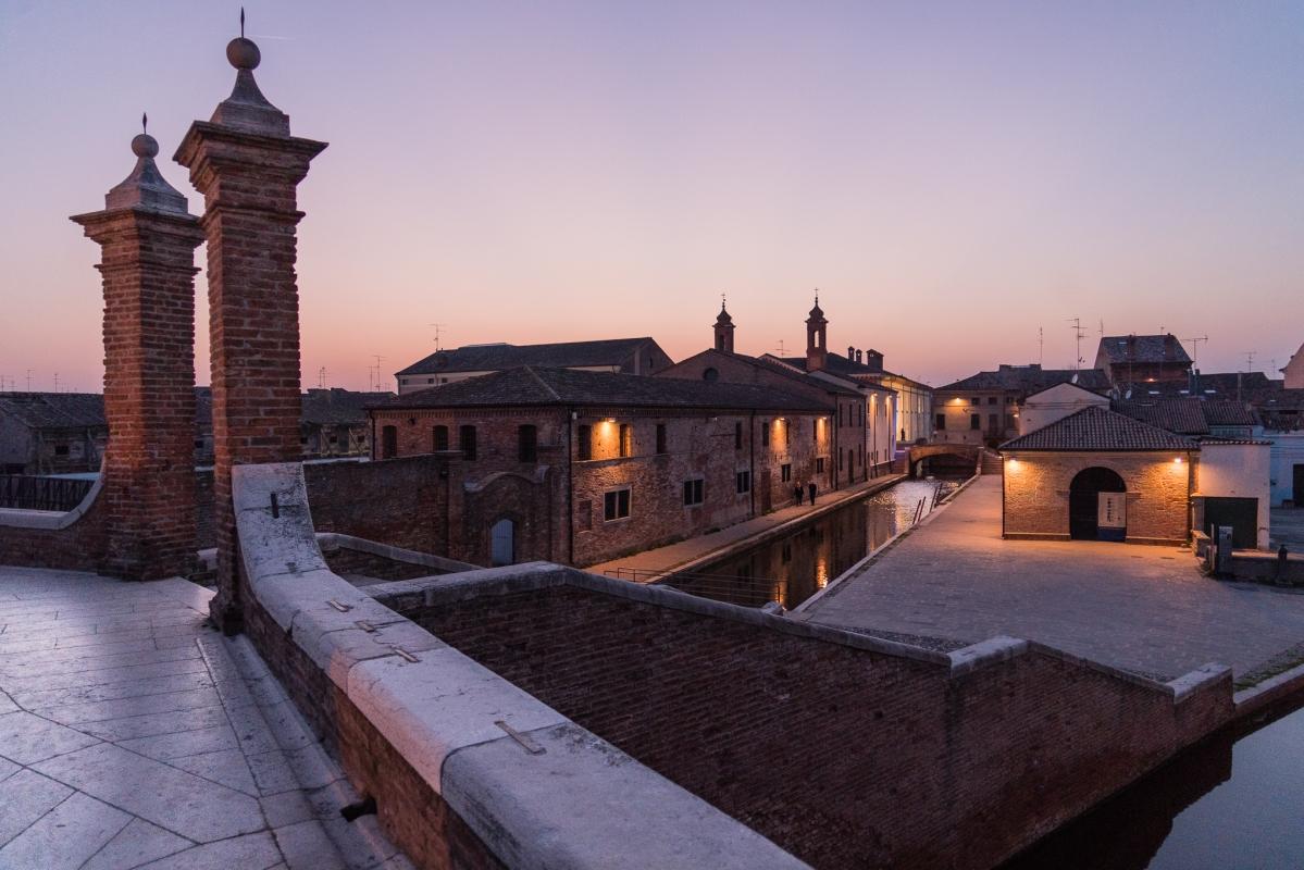 9 Comacchio vista da Trepponti - Vanni Lazzari - Comacchio (FE)