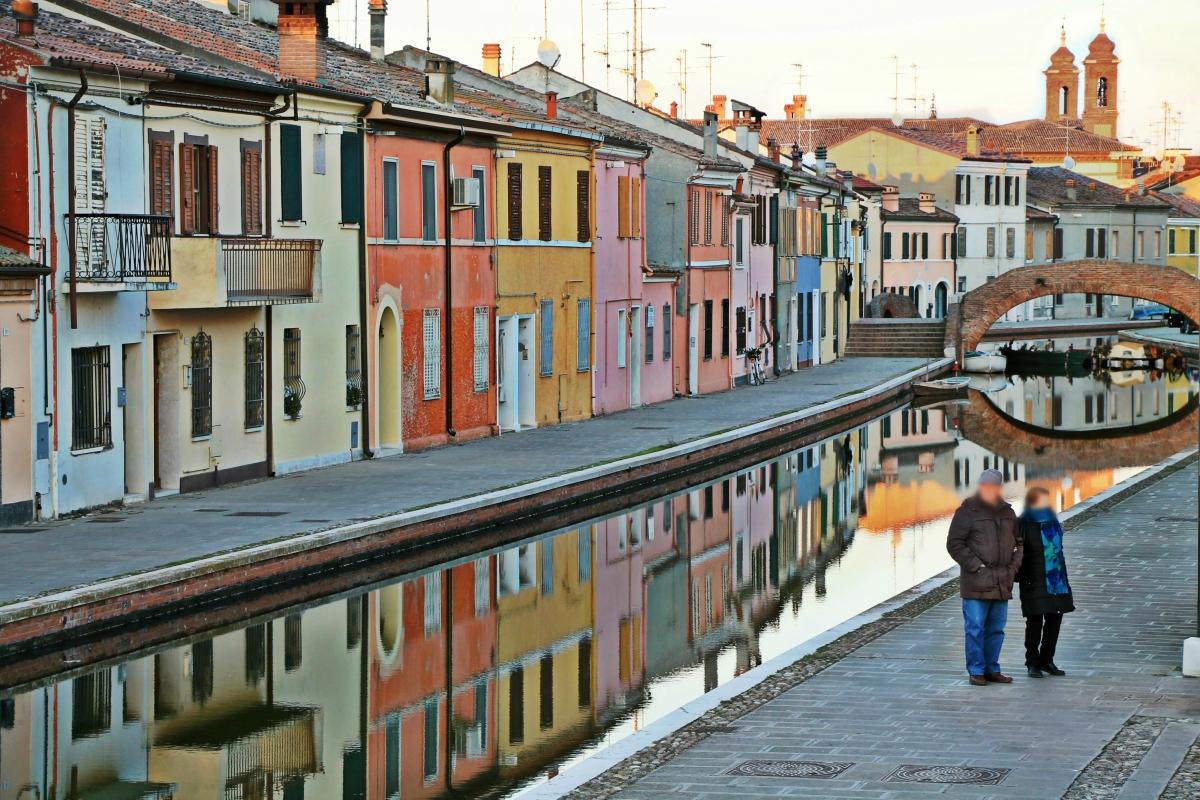 Centro storico di comacchio - Milena di nella - Comacchio (FE)