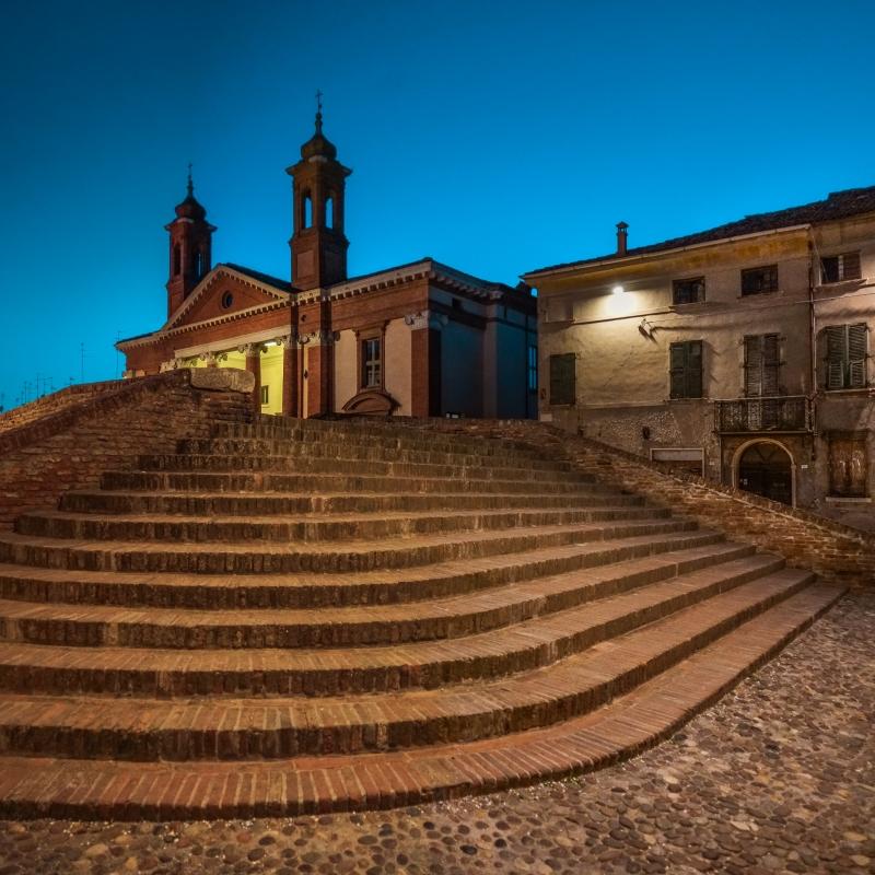 Verso sera - Ponte degli Sbirri ed Ospedale degli Infermi - Vanni Lazzari - Comacchio (FE)