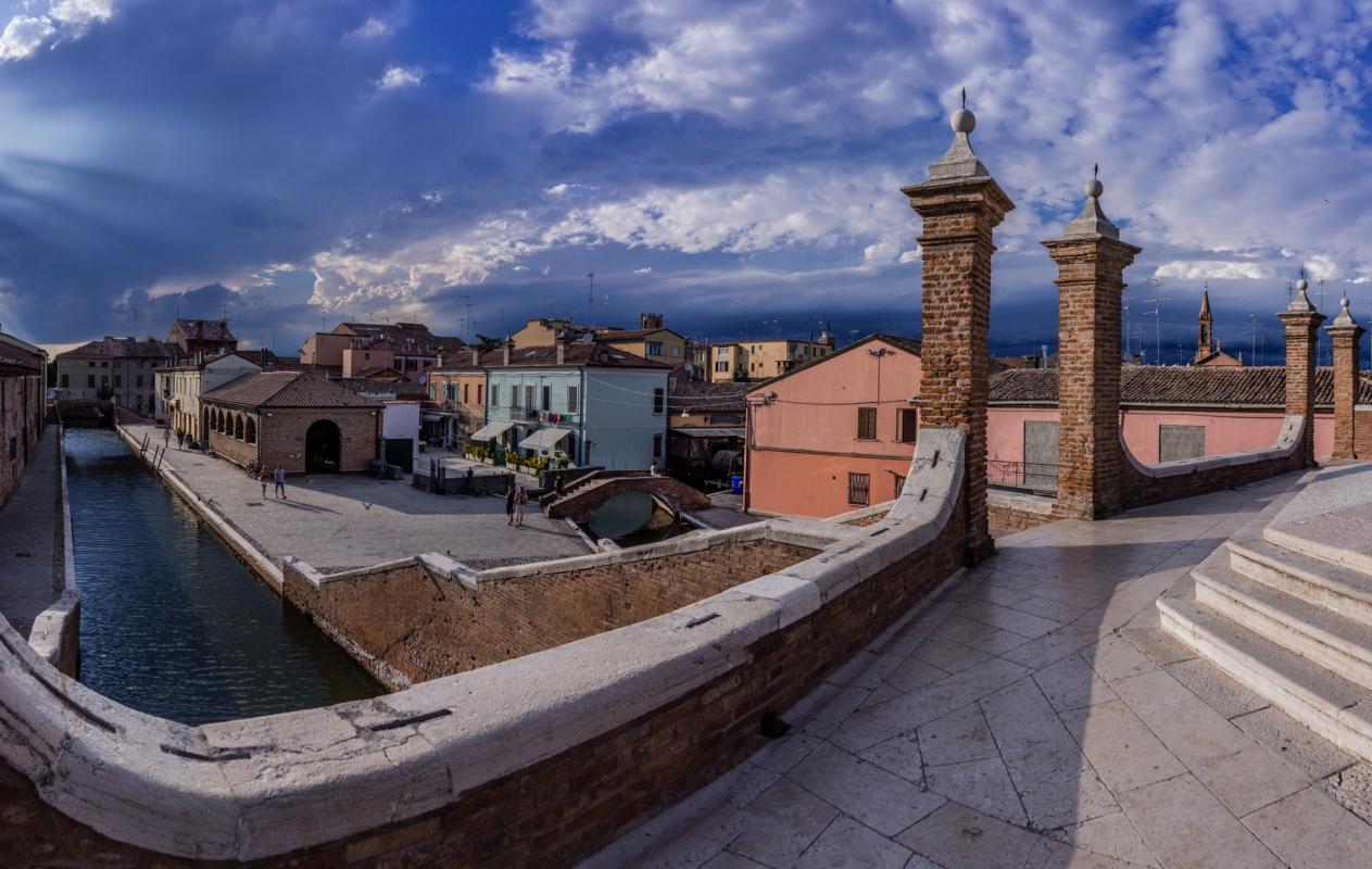 Comacchio vista da Trepponti - Vanni Lazzari - Comacchio (FE)