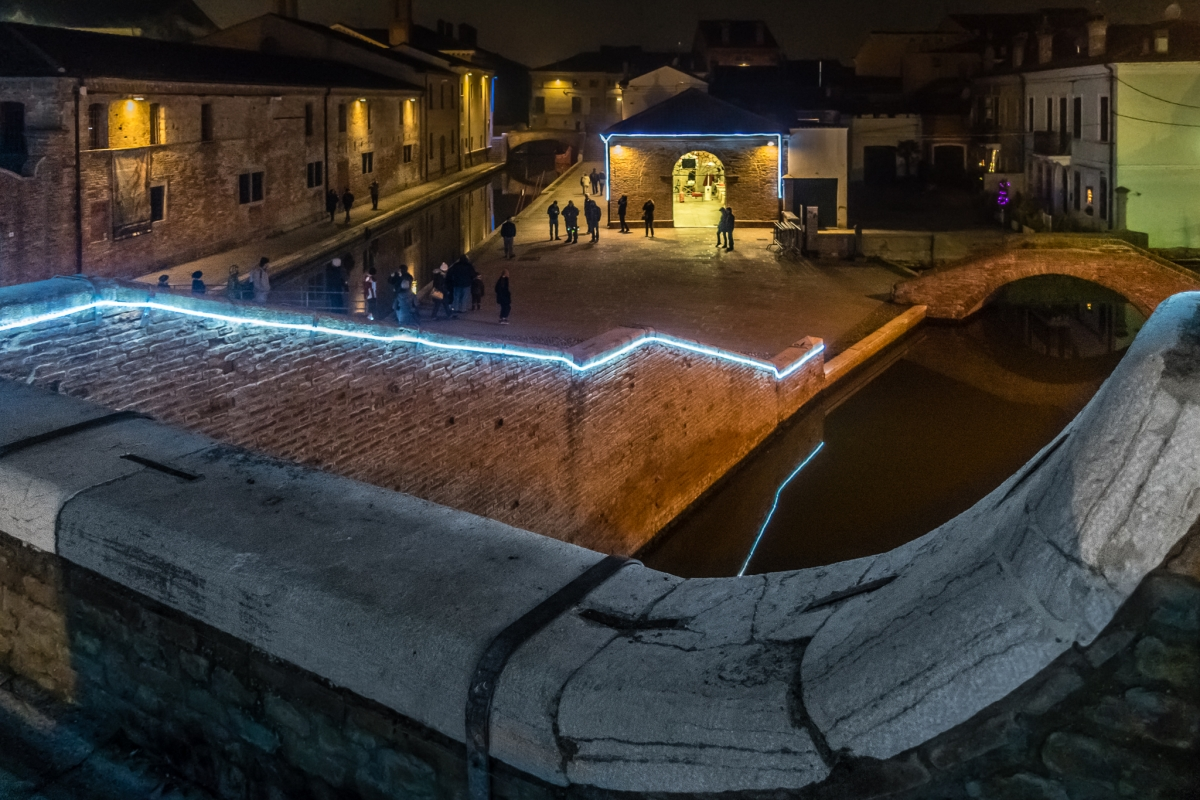 6 Comacchio vista da Trepponti - Vanni Lazzari - Comacchio (FE)