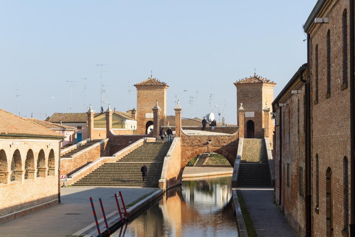 Comacchio i tre ponti - Elisabetta Bignami - Comacchio (FE)