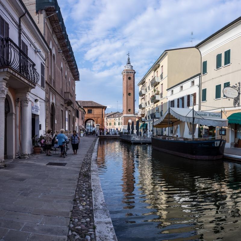 La Torre dell'orologio di Comacchio - Vanni Lazzari - Comacchio (FE)