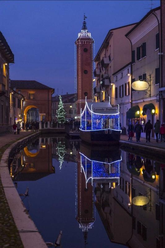 Torre civica versione natalizia - Boschettim65 - Comacchio (FE)