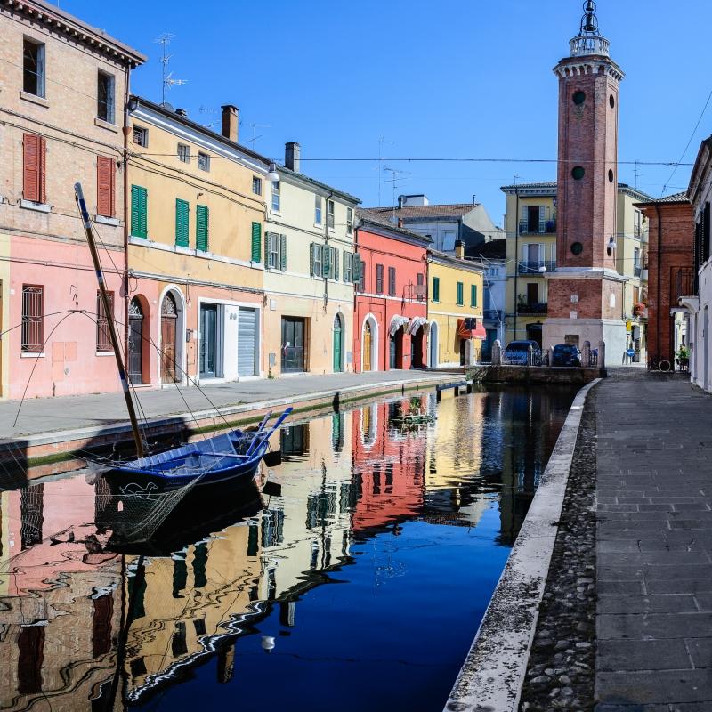 Torre Civica -- Comacchio - Vanni Lazzari - Comacchio (FE)