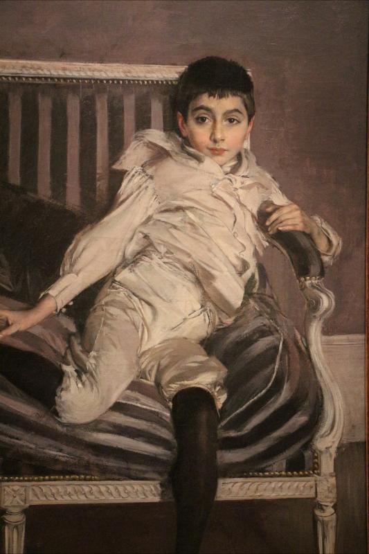 Giovanni boldini, ritratto del piccolo subercaseaux, 1891, 02 - Sailko - Ferrara (FE)
