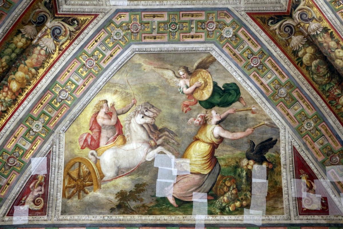 Bastianino, ludovico settevecchi e leonardo da brescia, sala dell'aurora nel castello estense, ante 1575, 05 giorrno - Sailko - Ferrara (FE)