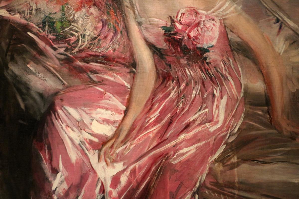 Giovanni boldini, la signora in rosa (ritratto di olivia concha de fontecilla), 1916, 04 - Sailko - Ferrara (FE)