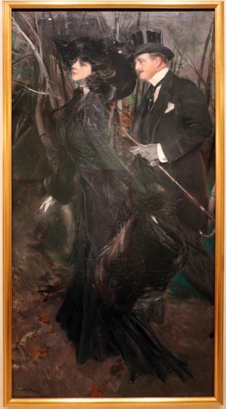 Giovanni boldini, la passeggiata al bois de boulogne, 1909 ca. 01 - Sailko - Ferrara (FE)