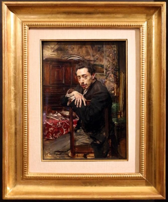 Giovanni boldini, ritratto del pittore joaquin araujo y ruano, 1882 ca - Sailko - Ferrara (FE)