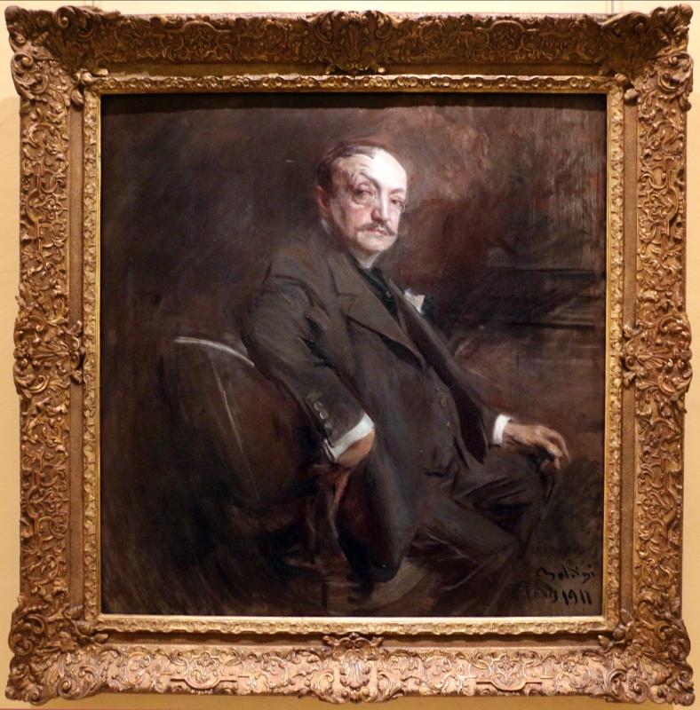 Giovanni boldini, autoritratto a 69 anni, 1911 - Sailko - Ferrara (FE)