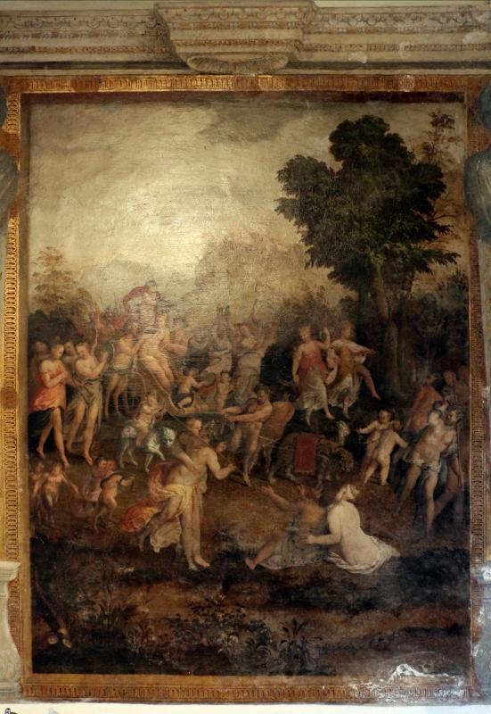 Leonardo da brescia, camerino dei baccanali di alfonso II nel castello estense, 1562-63, 01 - Sailko - Ferrara (FE)