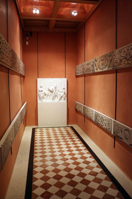 Castello estense, ricostruzione dei camerini d'alabastro, 04 - Sailko - Ferrara (FE)