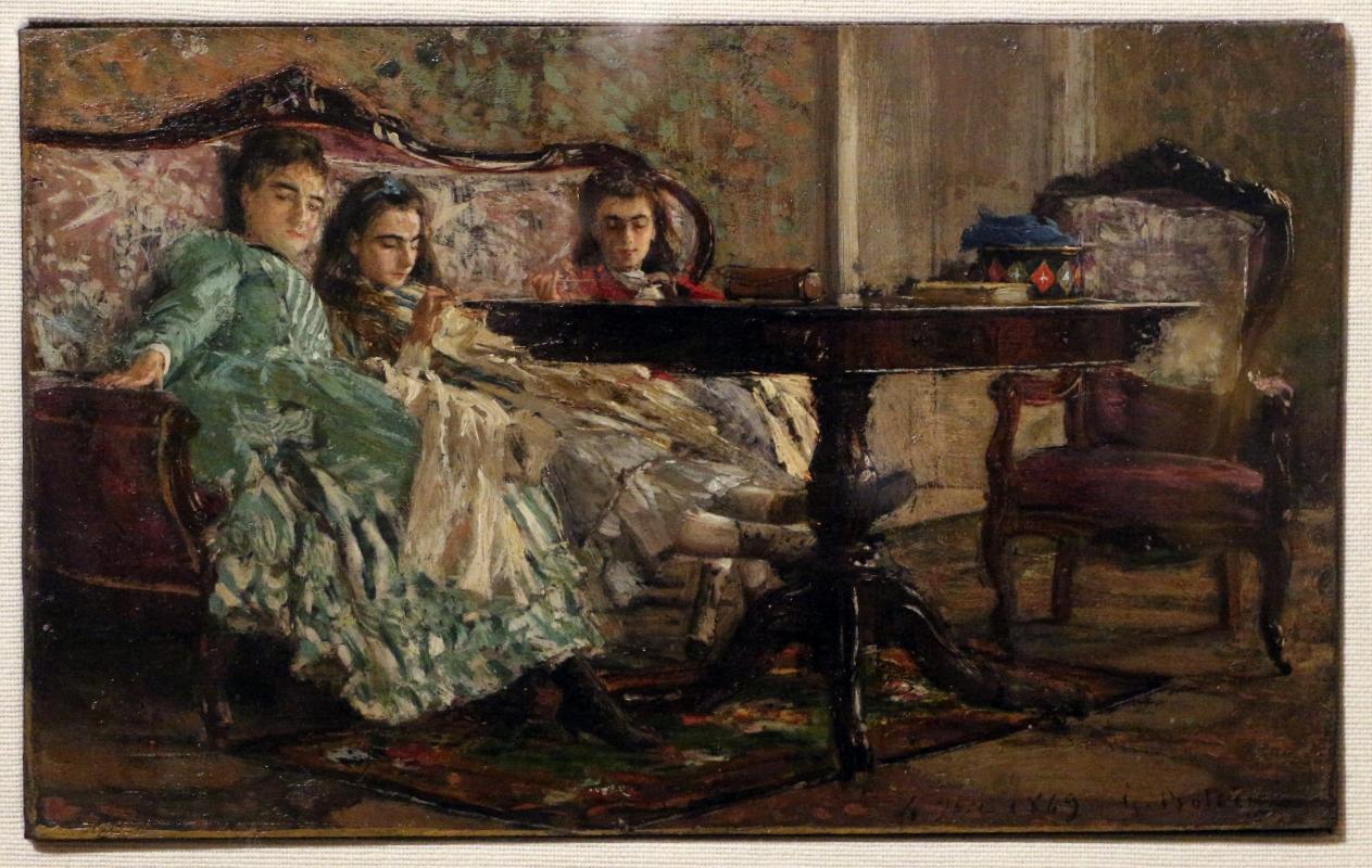 Giovanni boldini, le sorelle lascaraky, 1869 - Sailko - Ferrara (FE)