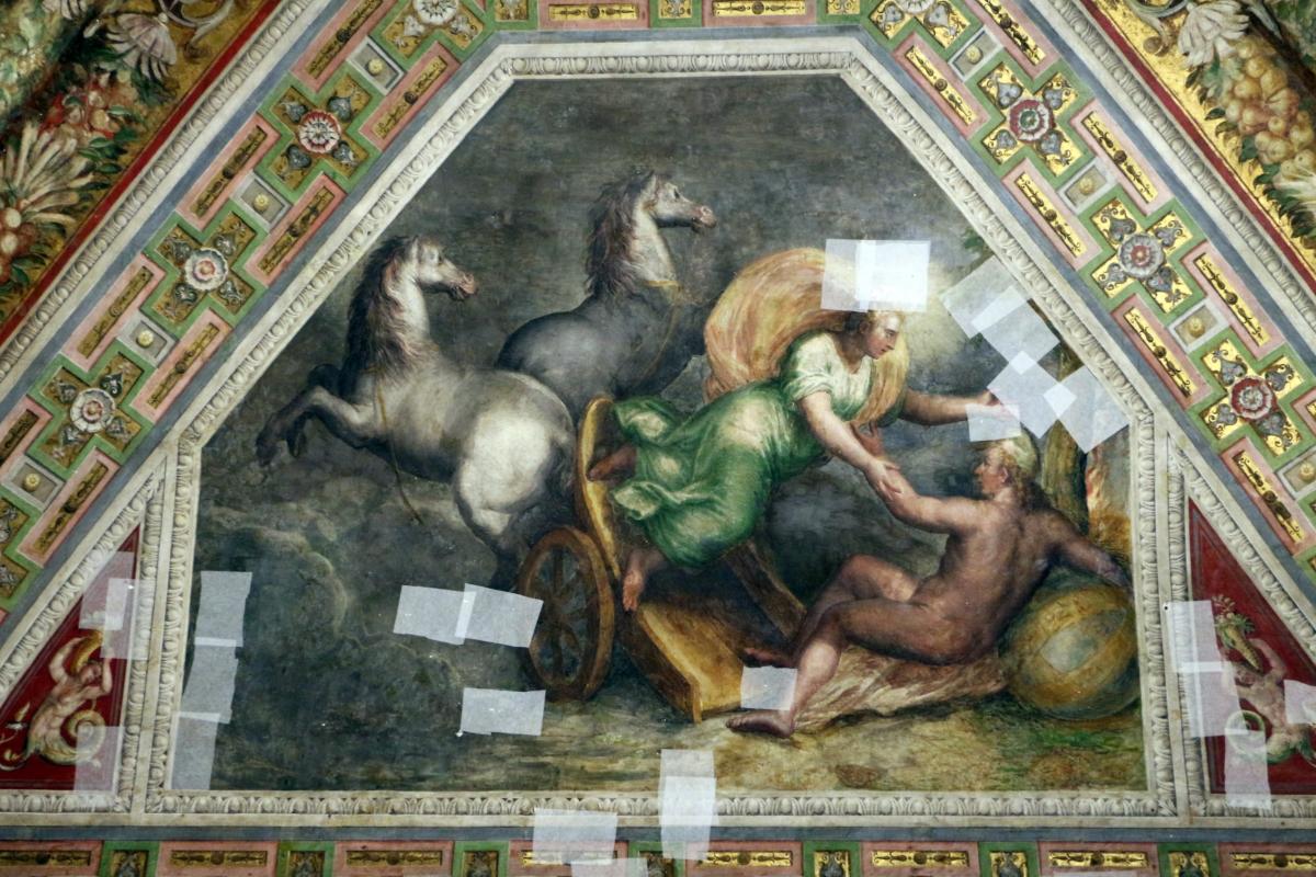 Bastianino, ludovico settevecchi e leonardo da brescia, sala dell'aurora nel castello estense, ante 1575, 03 notte - Sailko - Ferrara (FE)