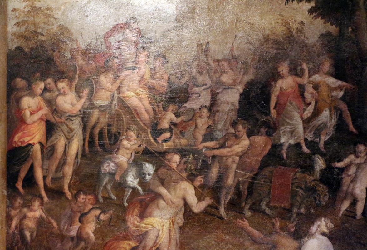 Leonardo da brescia, camerino dei baccanali di alfonso II nel castello estense, 1562-63, 02 - Sailko - Ferrara (FE)