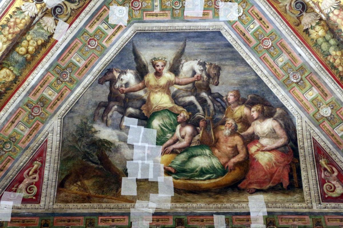 Bastianino, ludovico settevecchi e leonardo da brescia, sala dell'aurora nel castello estense, ante 1575, 02 autora - Sailko - Ferrara (FE)