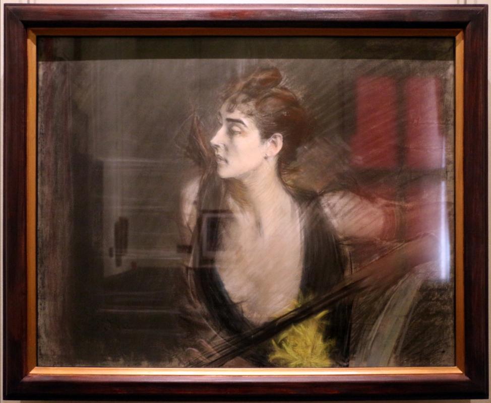 Giovanni boldini, madame X, la cognata di helleu, 1885-90 ca - Sailko - Ferrara (FE)