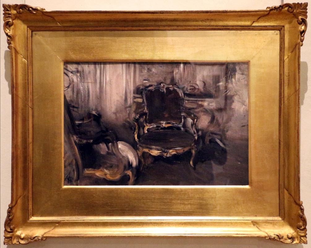 Giovanni boldini, la poltrona epoca reggenza (interno con poltrona), 1897 ca - Sailko - Ferrara (FE)