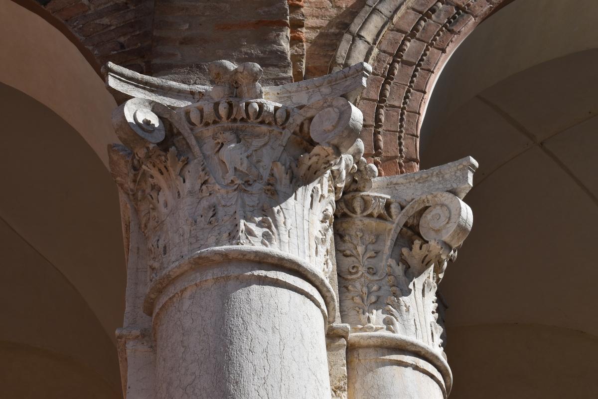 Palazzo Costabili (Ferrara) - Capitelli 01 - Nicola Quirico - Ferrara (FE)