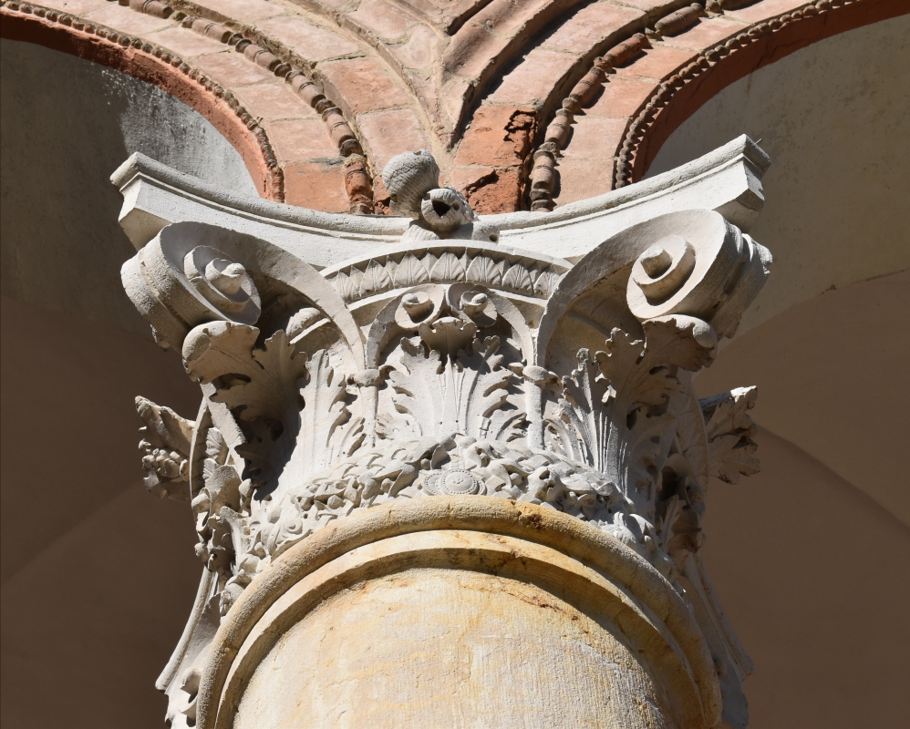 Palazzo Costabili (Ferrara) - Capitello 08 - Nicola Quirico - Ferrara (FE)