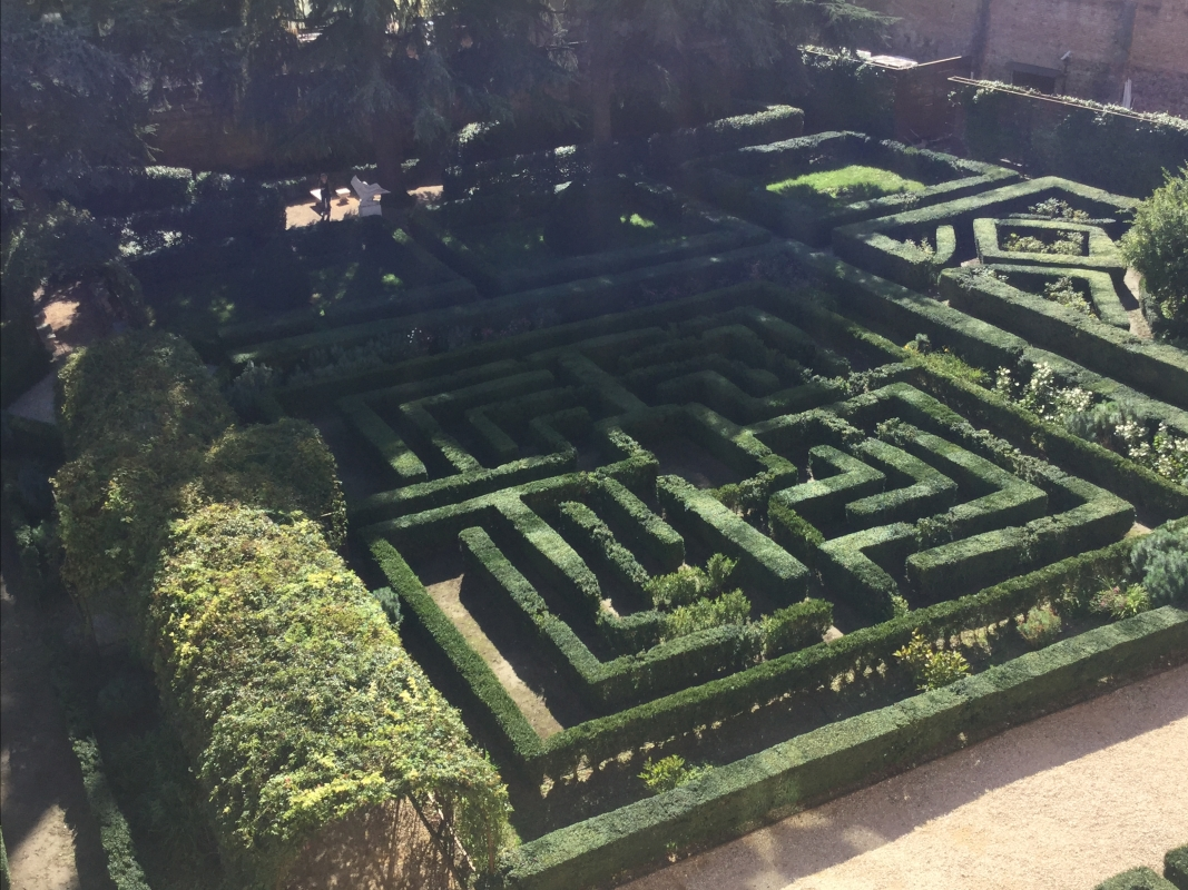Il giardino di Palazzo Costabili - Alison Mary Lazzari - Ferrara (FE)