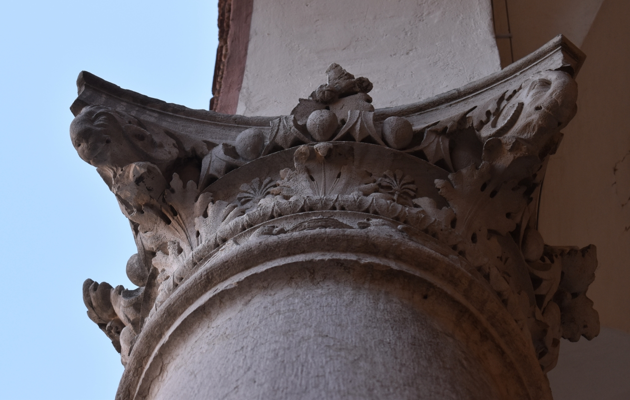 Palazzo Costabili (Ferrara) - Capitello 04 - Nicola Quirico - Ferrara (FE)