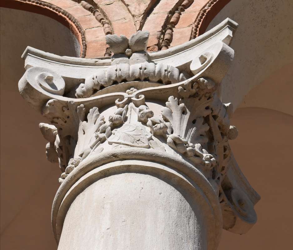 Palazzo Costabili (Ferrara) - Capitello 05 - Nicola Quirico - Ferrara (FE)