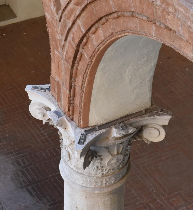 Palazzo Costabili (Ferrara) - Capitello 17 - Nicola Quirico - Ferrara (FE)