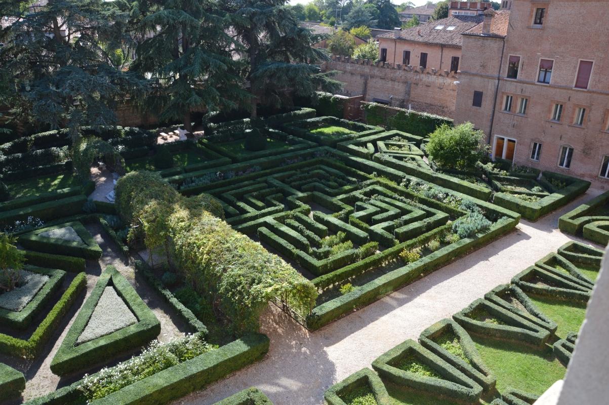 Vista giardino dall'alto - labirinto - Laura Dolcetti - Ferrara (FE)