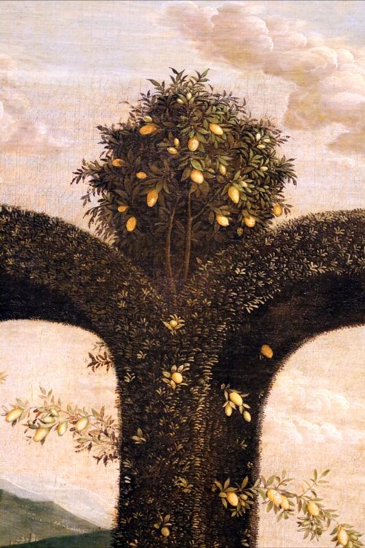 Andrea mantegna, minerva scaccia i vizi dal giardino delle virtù, 1497-1502 ca. (louvre) 07 - Sailko - Ferrara (FE)