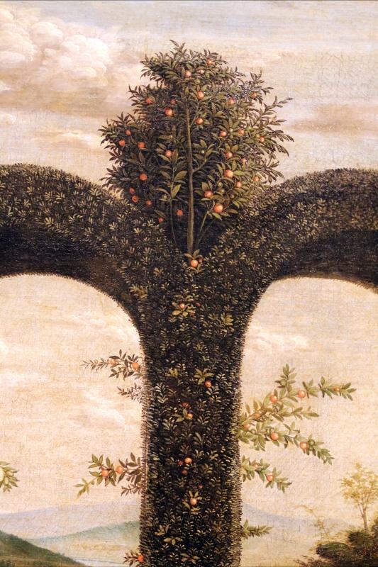 Andrea mantegna, minerva scaccia i vizi dal giardino delle virtù, 1497-1502 ca. (louvre) 08 - Sailko - Ferrara (FE)