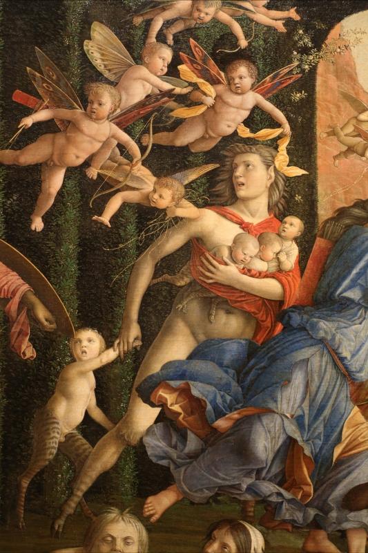 Andrea mantegna, minerva scaccia i vizi dal giardino delle virtù, 1497-1502 ca. (louvre) 18 - Sailko - Ferrara (FE)