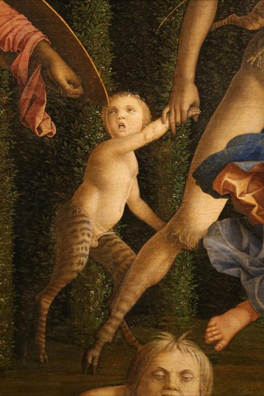 Andrea mantegna, minerva scaccia i vizi dal giardino delle virtù, 1497-1502 ca. (louvre) 20 - Sailko - Ferrara (FE)