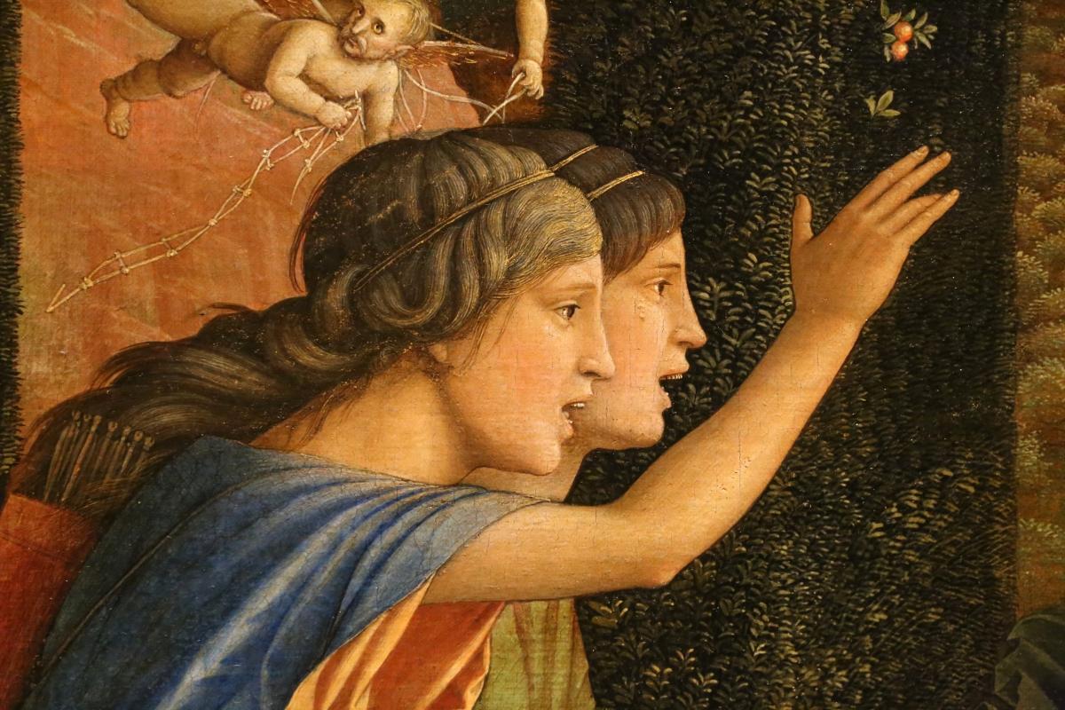 Andrea mantegna, minerva scaccia i vizi dal giardino delle virtù, 1497-1502 ca. (louvre) 25 - Sailko - Ferrara (FE)