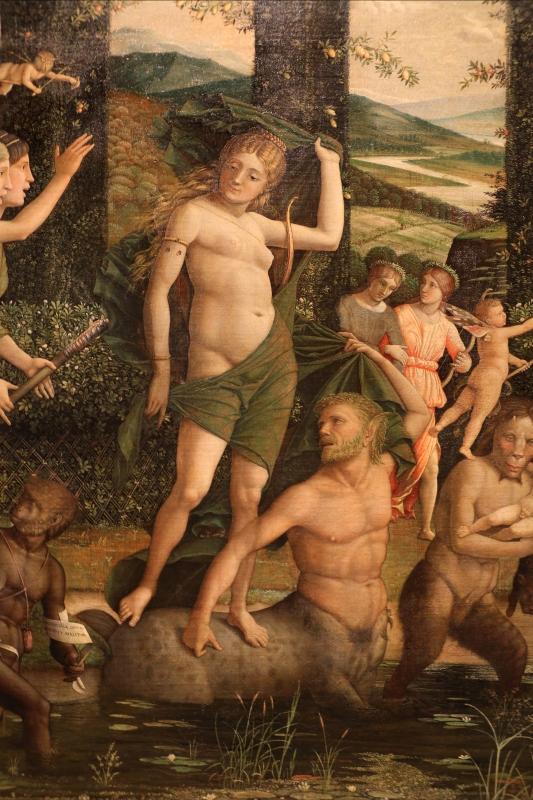 Andrea mantegna, minerva scaccia i vizi dal giardino delle virtù, 1497-1502 ca. (louvre) 29 - Sailko - Ferrara (FE)