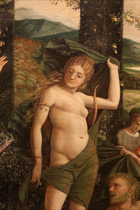 Andrea mantegna, minerva scaccia i vizi dal giardino delle virtù, 1497-1502 ca. (louvre) 30 - Sailko - Ferrara (FE)