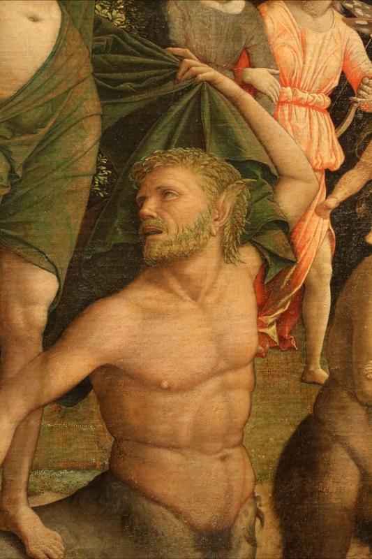 Andrea mantegna, minerva scaccia i vizi dal giardino delle virtù, 1497-1502 ca. (louvre) 31 centauro - Sailko - Ferrara (FE)