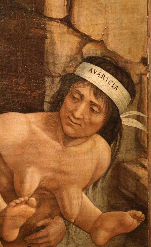 Andrea mantegna, minerva scaccia i vizi dal giardino delle virtù, 1497-1502 ca. (louvre) 39 - Sailko - Ferrara (FE)