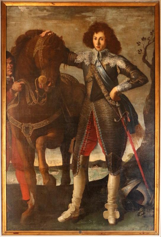 Anonimo, ritratto di Ghiron Francesco Villa, 1630-40 ca - Sailko - Ferrara (FE)