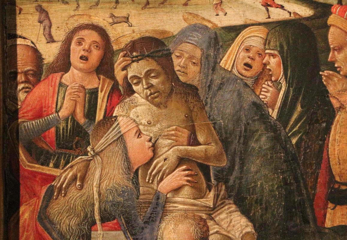 Antonio da crevalcore, deposizione di cristo dalla croce, 1480-1500 ca., 03 - Sailko - Ferrara (FE)