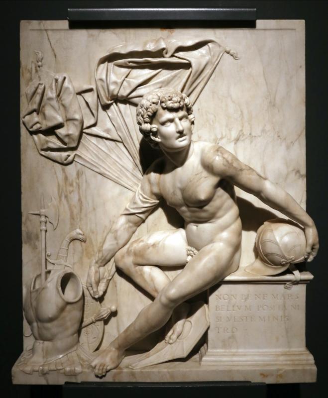 Antonio lombardo, marte, 1513-15 ca. (galleria estense) 01 - Sailko - Ferrara (FE)