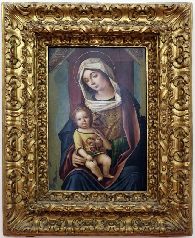 Baldassarre carrari, madonna col bambino, 1480-1510 ca. (forlì) - Sailko - Ferrara (FE)